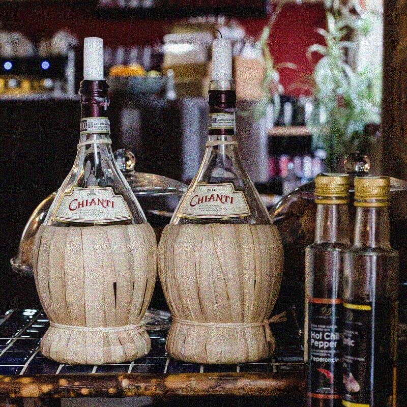 Chianti Bottles & Infused Oils